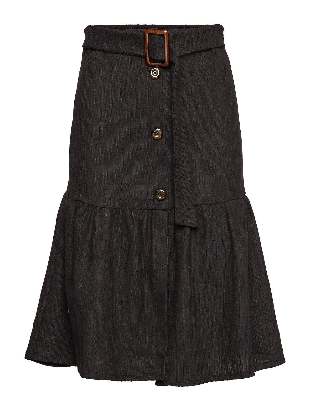 Mango Buckle cotton skirt Kjolar