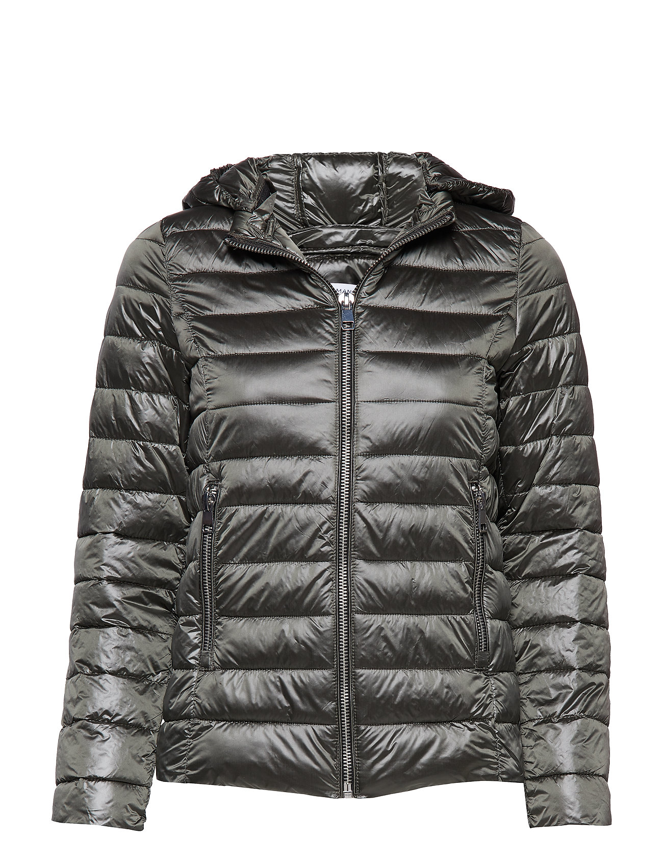 Mango Mixed quilted jacket