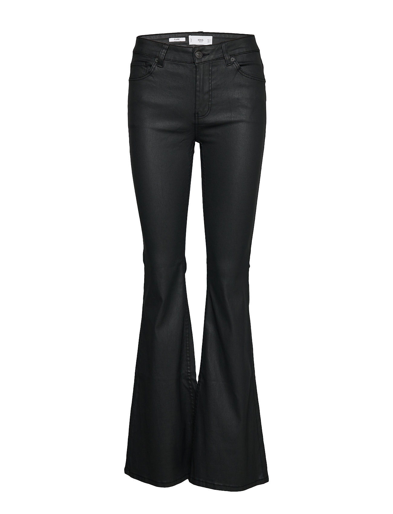 Mango Flared jeans Flare - BLACK
