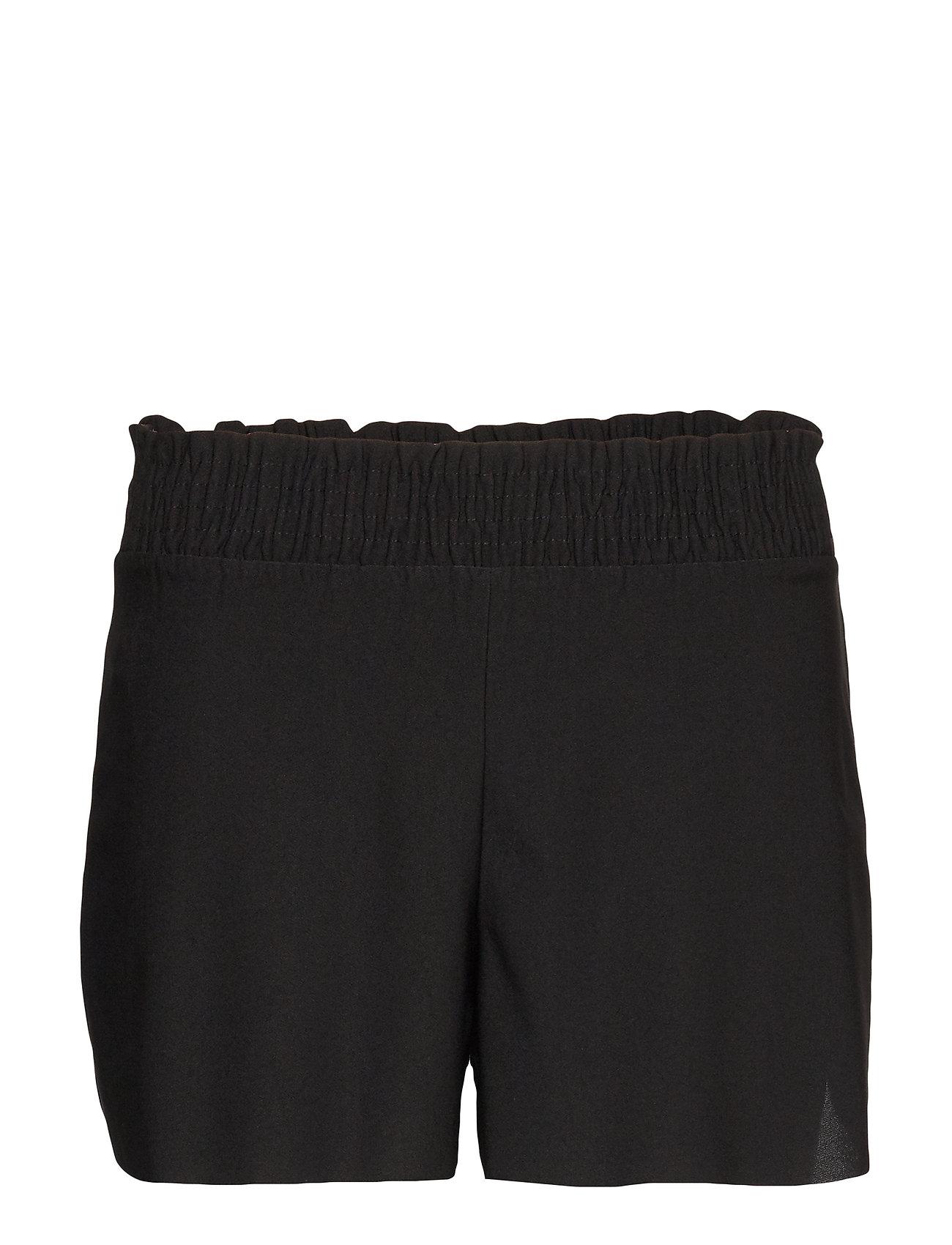 Mango Drawstring waist shorts - BLACK
