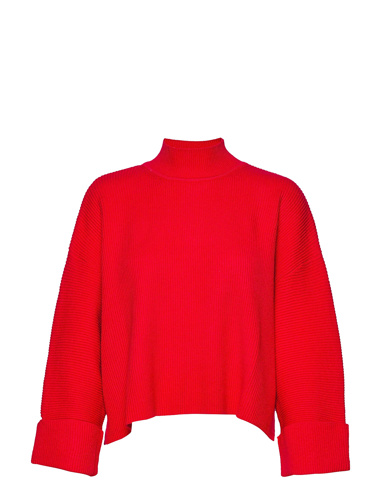 Mango Ribbed knit sweater - RED
