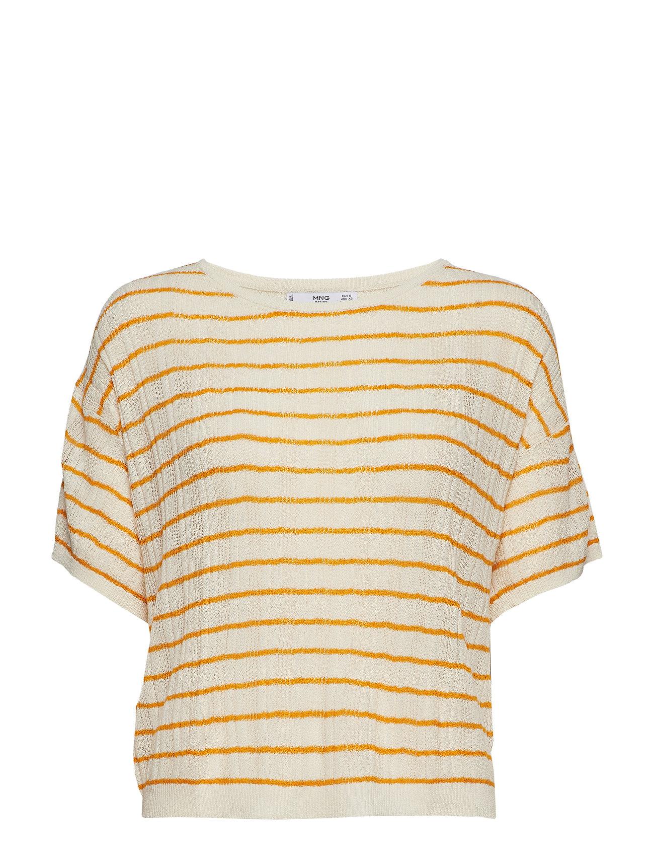 Mango Ribbed knit sweater - LIGHT BEIGE