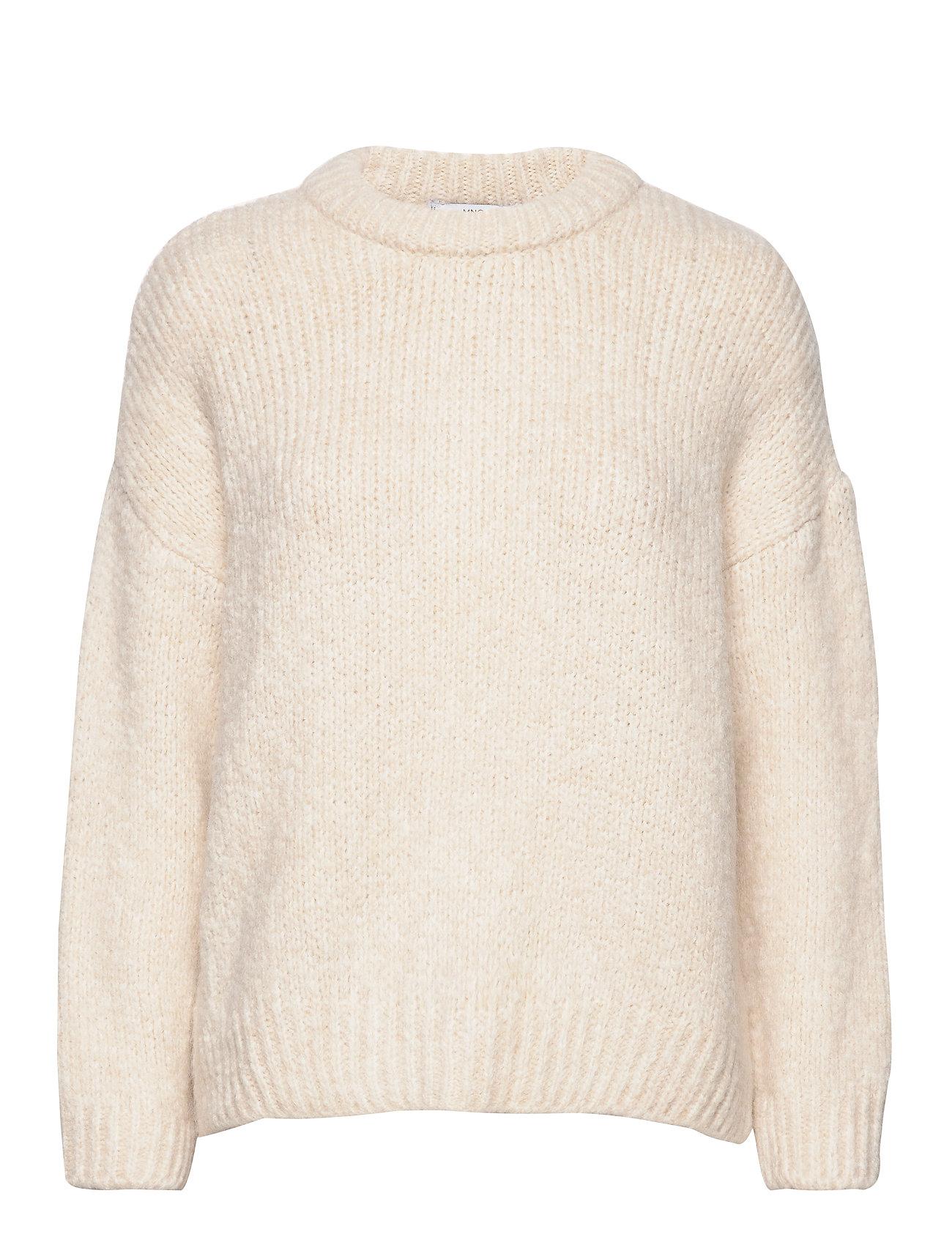 Mango Chunky-knit sweater - LIGHT BEIGE