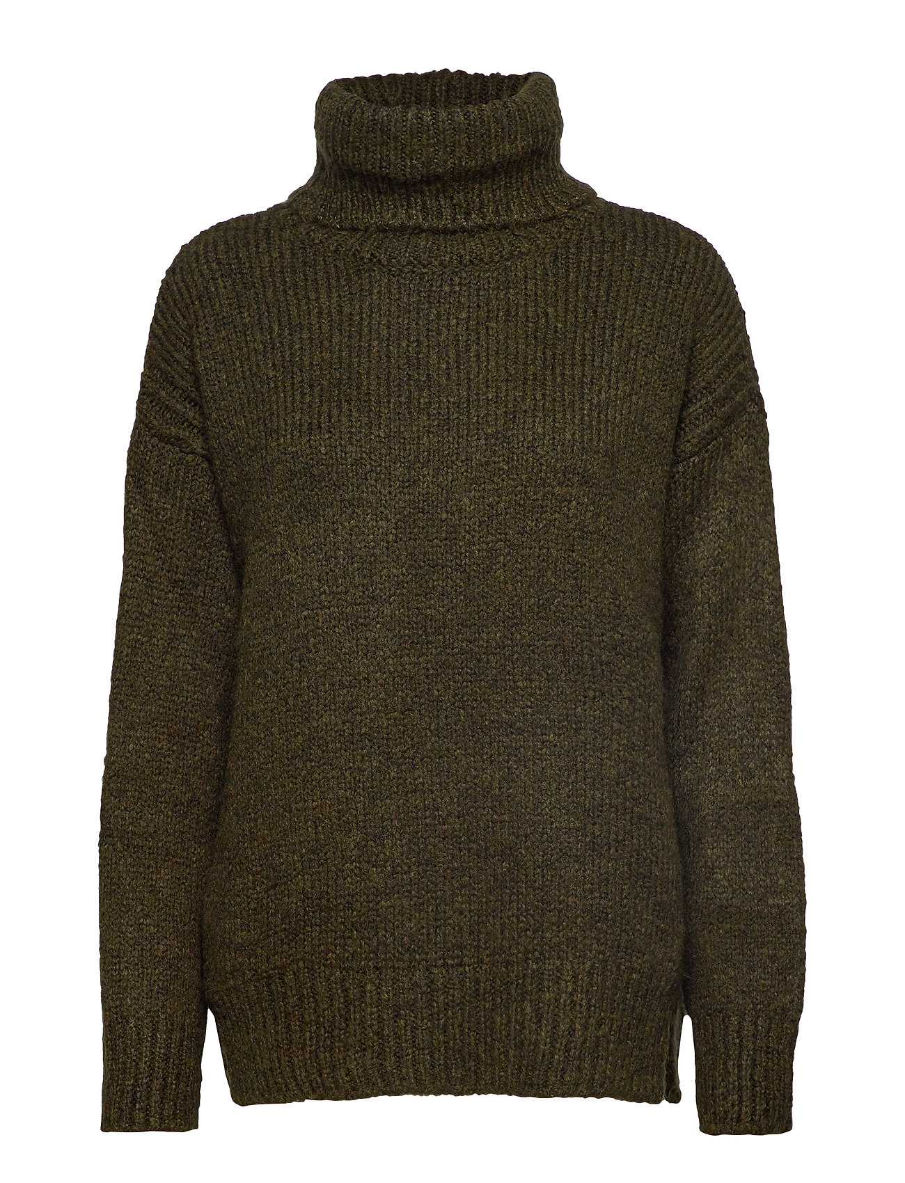 Mango Turtle neck sweater - BEIGE - KHAKI