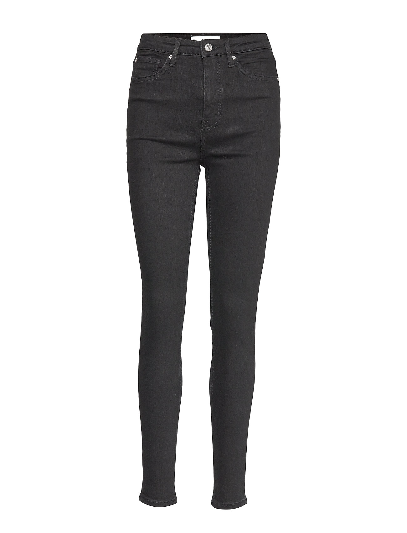 Mango Jeans skinny high waist Soho - BLACK