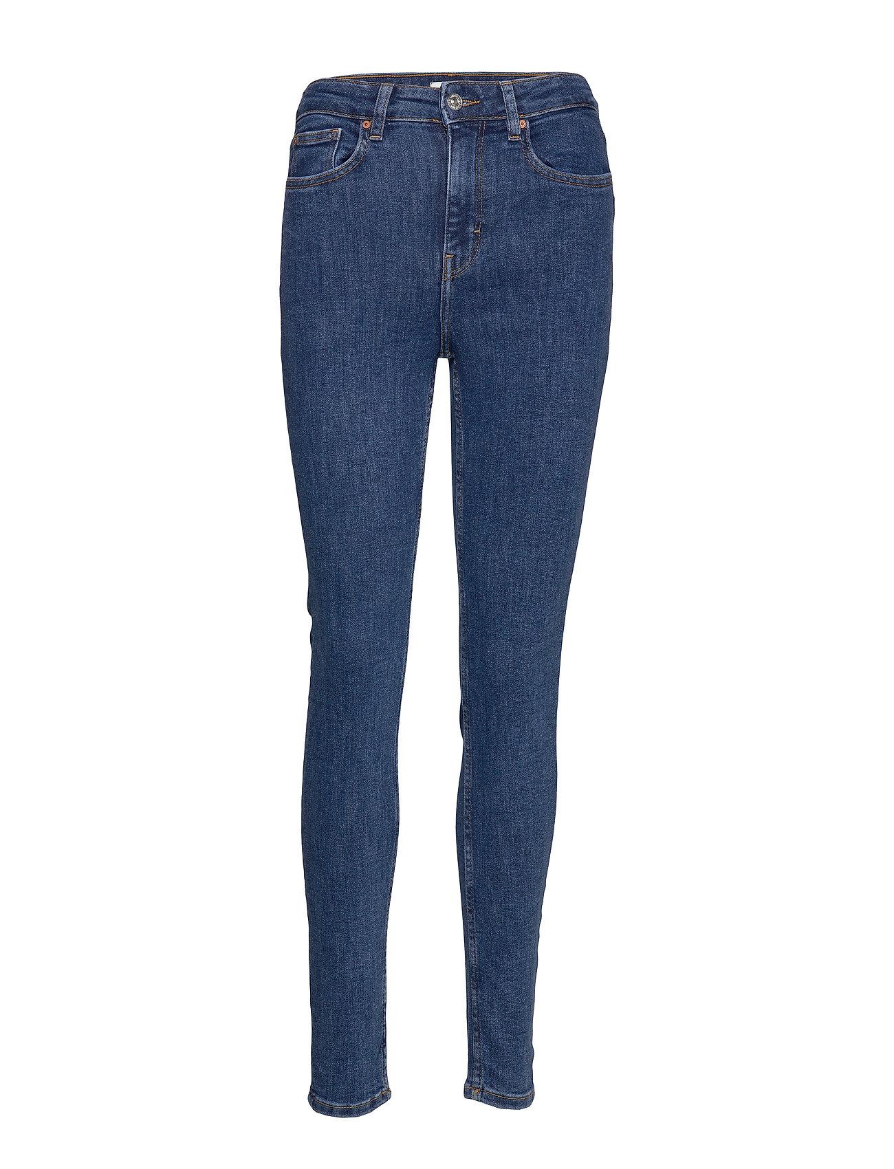 Mango Jeans skinny high waist Soho - OPEN BLUE