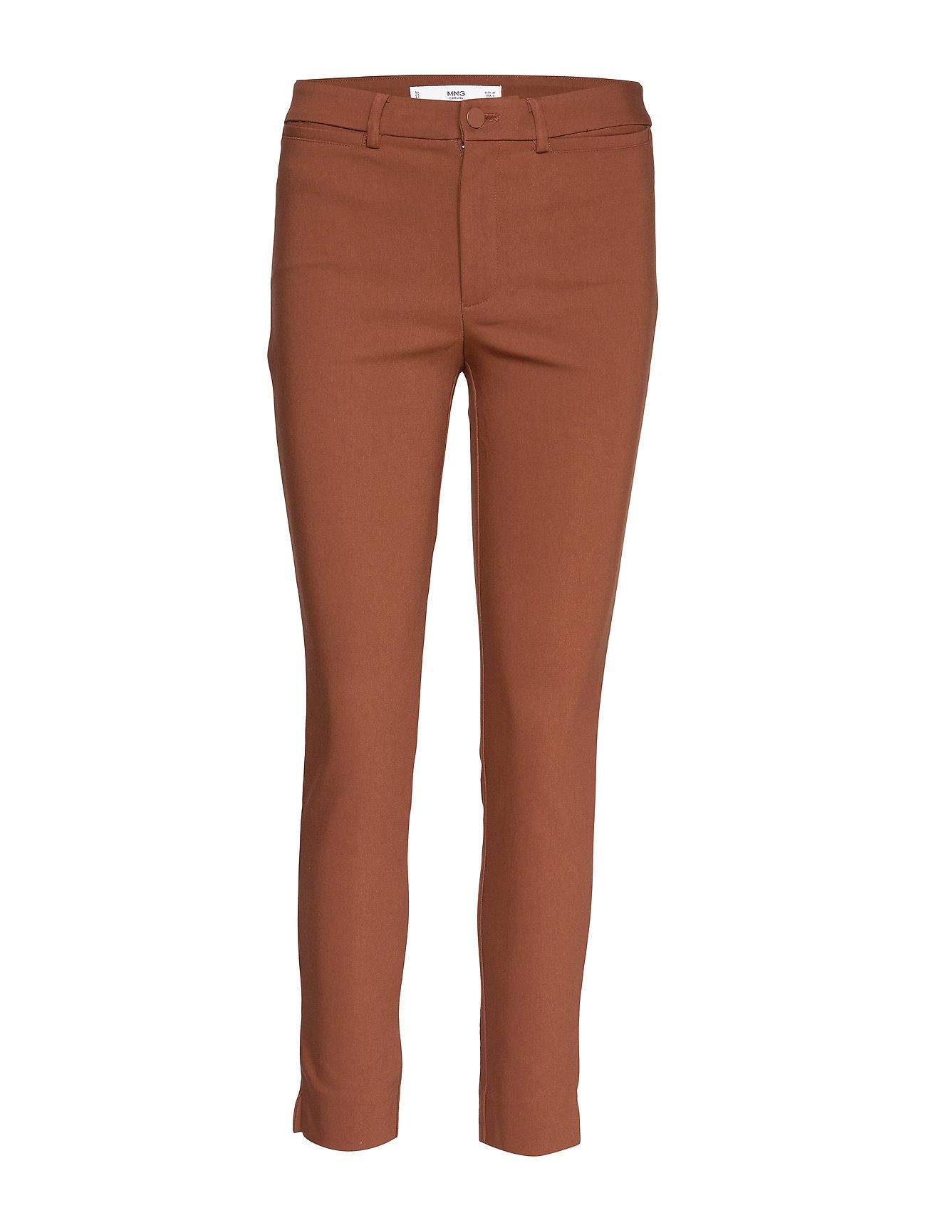 Mango Slim-fit trousers - MEDIUM ORANGE