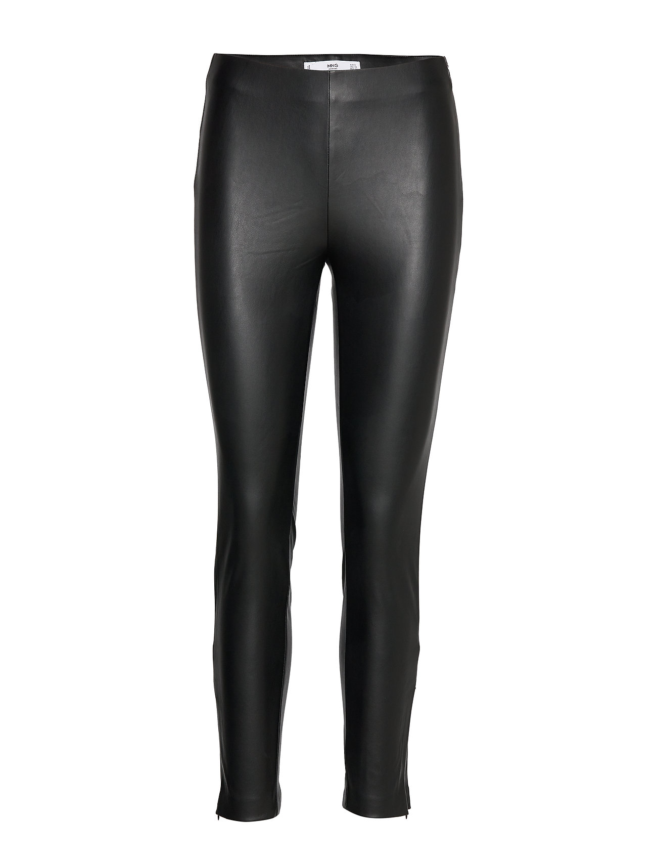 Mango Slim-fit stretch trousers - BLACK