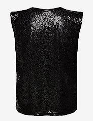 Mango - LENTEPAD - Ærmeløse bluser - black - 1