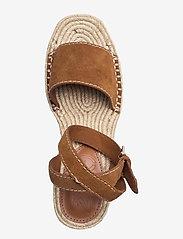 Mango - IBIZA - højhælede espadrillos - leather - 3