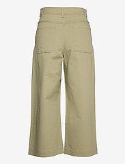 Mango - GARDEN - bukser med brede ben - khaki - 1