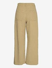 Mango - BLAU - bukser med brede ben - khaki - 1