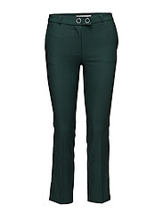 Straight trousers - GREEN
