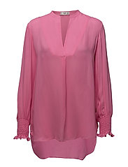 Ruched sleeve blouse - PINK