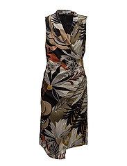 Mango - Printed Chiffon Dress