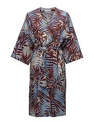 Mango - Leaf Print Dress
