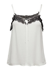 Lace top - NATURAL WHITE