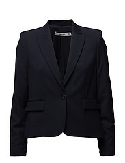 Patterned suit blazer - NAVY