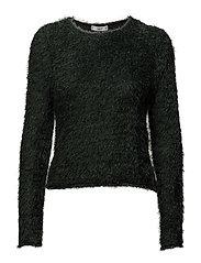 Textured sweater - GREEN