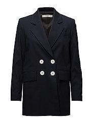 Contrast buttons blazer - NAVY