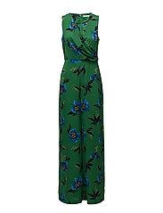 Mango - Floral Print Jumpsuit