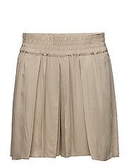 Flowy shorts - LIGHT BEIGE