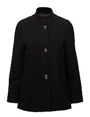Mango - Unstructured Wool-Blend Coat