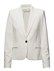 Patterned suit blazer - NATURAL WHITE