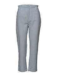 Mango - Fine-Stripe Suit Trousers