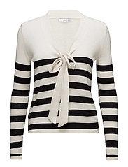 Mango - Bow Striped Sweater