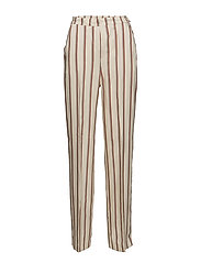 Mango - Straight Striped Trousers
