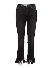 Mango - Frayed Edges Jeans