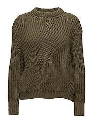 Chunky-knit sweater - BEIGE - KHAKI