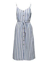Mango - Floral Print Linen-Blend Dress