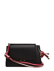 Triple rope strap bag - BLACK