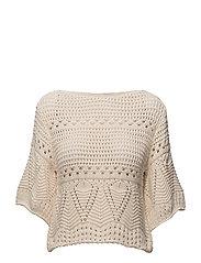 Mango - Openwork Panel Sweater