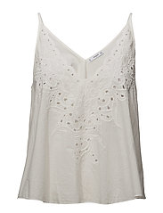 Embroidered panel top - LT-PASTEL PINK