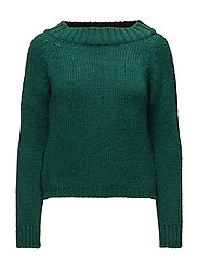 Monochrome sweater - BLACK