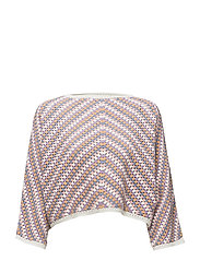 Crochet cotton  sweater - PINK