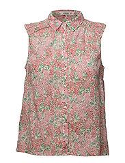 Floral print blouse - PINK