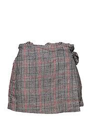 Printed skirt line - RED