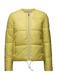 Quilted jacket - BRIGHT YELLOW