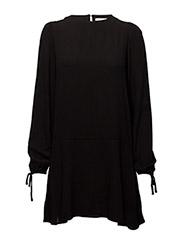 Sleeve detail dress - CHARCOAL