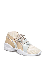 Sole sock sneakers - LT PASTEL BROWN