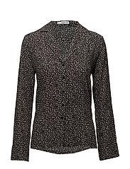 Buttoned flowy shirt