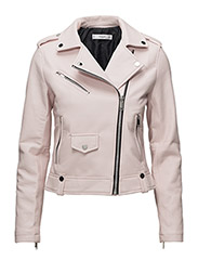 Appliqu biker jacket