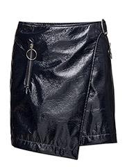 Vinyl wrap skirt - NAVY
