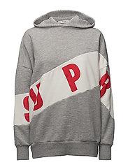 Oversize sweatshirt - MEDIUM GREY