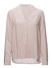 Buttoned flowy shirt - LT-PASTEL PINK