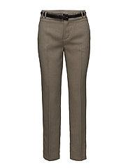 Detachable belt trousers - LT PASTEL GREY